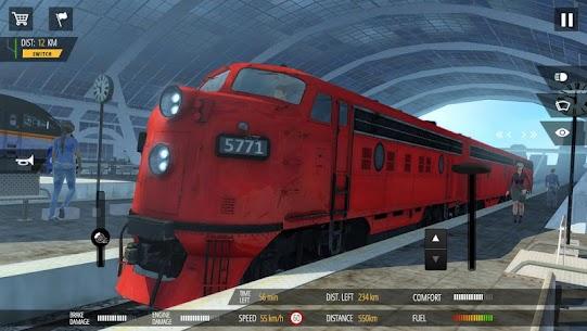 Train Simulator PRO 2018 v1.5 MOD (Money, Diamond) APK 3