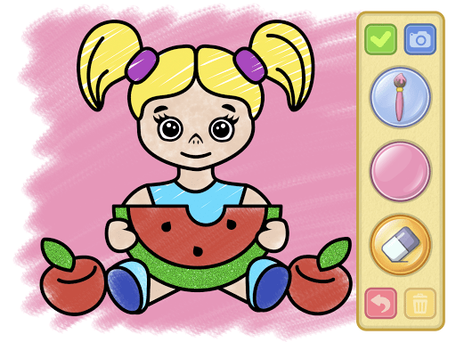 Coloring and drawing for kids  screenshots 12