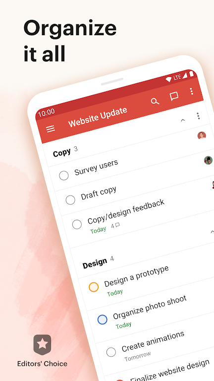 Todoist: To-Do List, Tasks & Reminders  poster 0