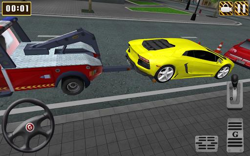 Télécharger Gratuit Tow Truck City Car Parking APK MOD (Astuce) screenshots 2