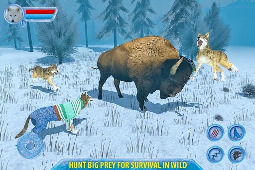 Arctic Wolf Sim 3D  screenshots 9