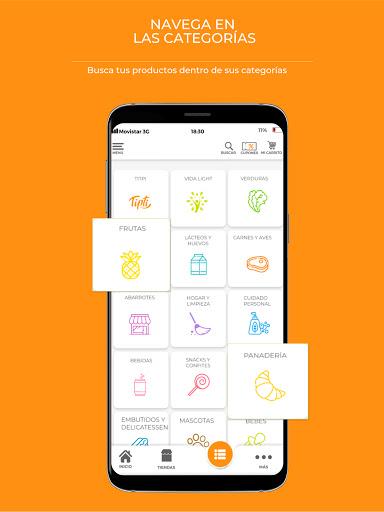 Tipti: Supermercado a domicilio modavailable screenshots 3