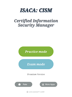 CISM Certification Exam