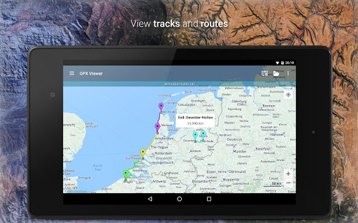 GPX Viewer - Tracks, Routes & Waypoints 1.37.1 Screenshots 2