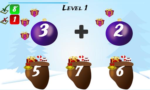 Christmas Games Math Santa 2.2 screenshots 2