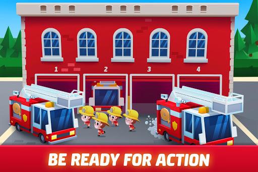 Idle Firefighter Tycoon - Fire Emergency Manager apktram screenshots 2