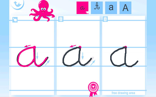 Write the Alphabet for Kids For PC Windows (7, 8, 10, 10X) & Mac Computer Image Number- 5
