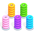 Color Hoop Stack - Sort Puzzle