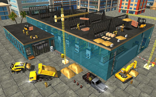 Supermarket Construction Games:Crane operator 1.6.0 screenshots 12