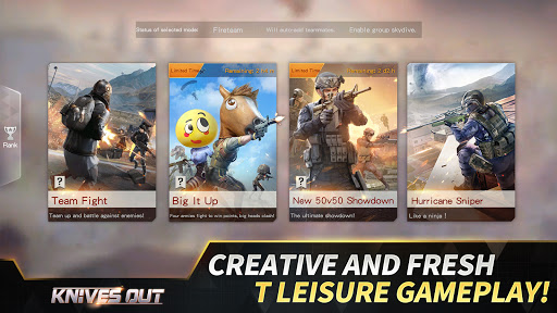 Knives Out-No rules, just fight!  APK MOD (Astuce) screenshots 5