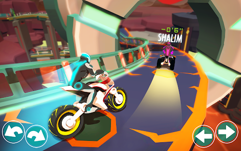 Gravity Rider - Juego de carreras de motos BMX Screenshot