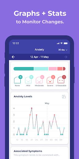 Bearable - Symptoms & Mood tracker modavailable screenshots 7