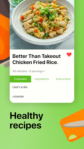 Mealime - Meal Planner, Recipes & Grocery List 4.8.2 Screenshots 2
