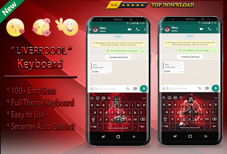 Reds Keyboard Theme Football For Pc | How To Install (Windows 7, 8, 10 And Mac) 1