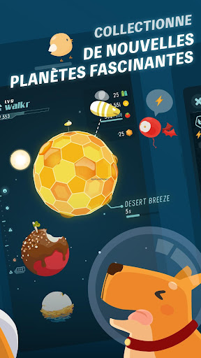 Code Triche Walkr: Fitness Space Adventure apk mod screenshots 2