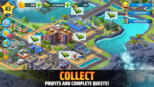 City Island 5 - Tycoon Building Simulation Offline screen 2