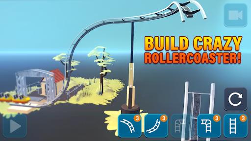 Craft & Ride: Roller Coaster Builder  screenshots 1