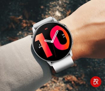 Hybrid Red Watch Face 3