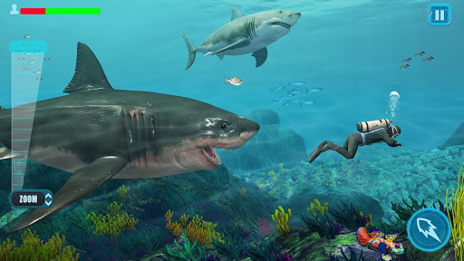 Survivor Sharks Game: Shooting Hunter Action Games 1.24 screenshots 3