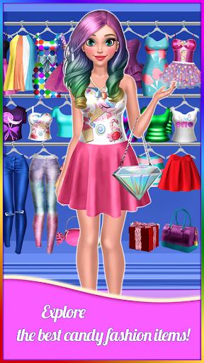 Candy Fashion Dress Up & Makeup Game 1.2-arm screenshots 1