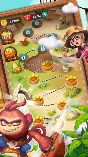 Bubble Journey -  Bubble shooter & Adventure story android2mod screenshots 5