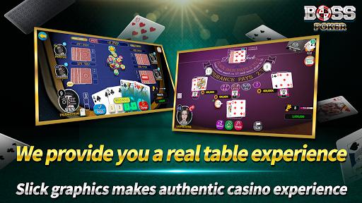 Boss Poker u2013 Texas Holdem Blackjack Baccarat  screenshots 6