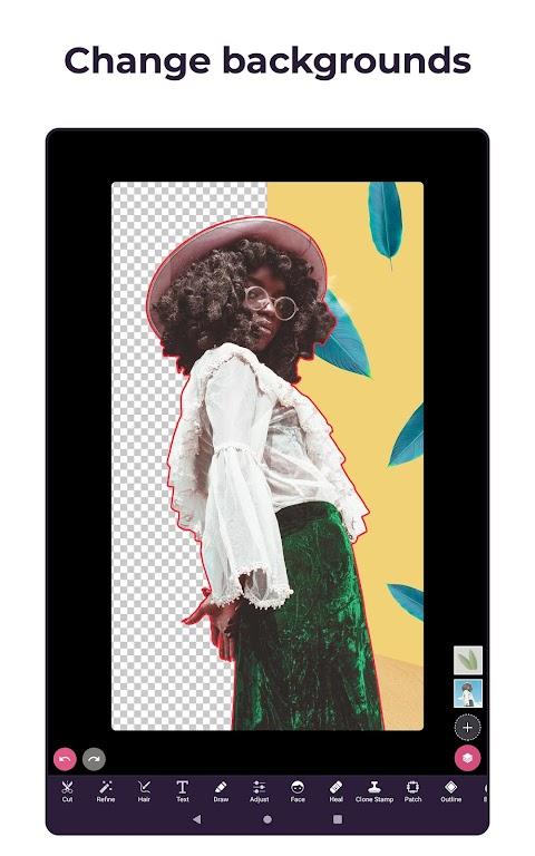 Pixomatic - Background eraser  poster 13