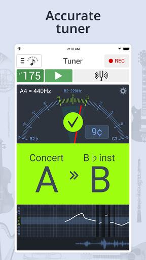 Tuner & Metronome apktram screenshots 9