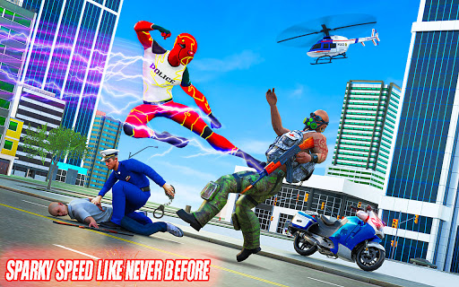Top Speed Hero Police Robot Cop Gangster Crime 3.2 screenshots 7