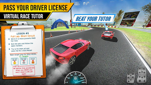 Race Driving License Test 2.1.2 screenshots 14