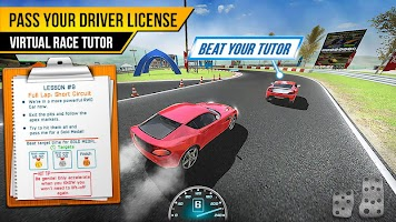 Race Driving License Test