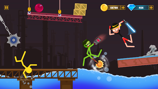 Supreme Stickman Battle Warrior: Duelist Fight Mod Apk 1.13 (A Lot of Money) 5