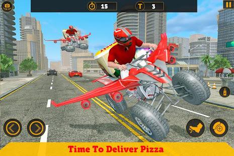 flying atv bike pizza delivery games 2021 hack