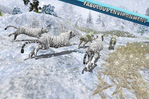 Arctic Wolf Family Simulator: Wildlife Animal Game 2.2 screenshots 16