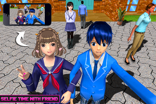 Virtual High School Life Simulator Offline 2020  screenshots 7