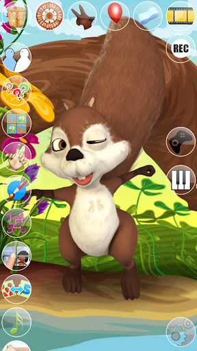 Talking Baby Squirrel 6 screenshots 1
