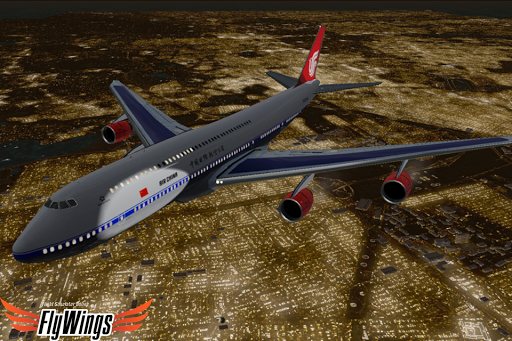 Flight Simulator Night - Fly Over New York NY 1.0.1 screenshots 8