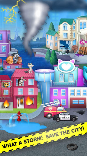 Kitty Meow Meow City Heroes - Cats to the Rescue! 4.0.21003 screenshots 2