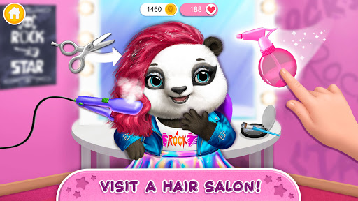 Rock Star Animal Hair Salon - Super Style & Makeup 4.0.70031 screenshots 3