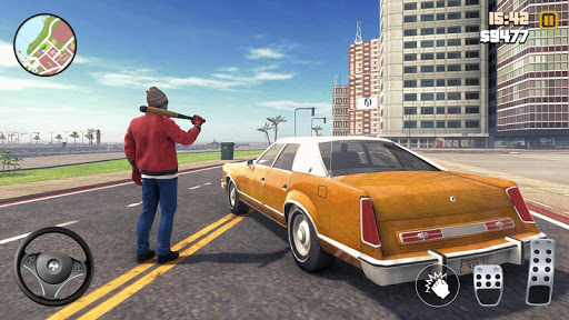 Code Triche Grand Gangster Auto Crime  - Theft Crime Simulator (Astuce) APK MOD screenshots 2