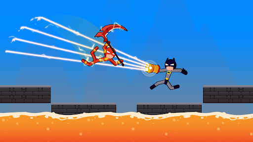 Spider Stickman Fighting - Supreme Warriors modavailable screenshots 11