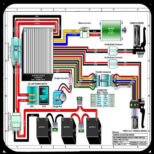 Simple Motorcycle Wiring Diagram 1 0, Basic Motorcycle Wiring Diagram Pdf