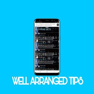 100% Sure VIP Tips 9.6 Screenshots 4