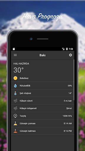 Hava Proqnozu - Azu0259rbaycan  screenshots 3