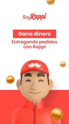App para repartidores - Soy Rappi  Screenshots 1