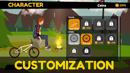 Draw Rider 2 Free - happy bike racing games screenshots 16