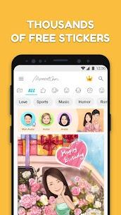 MomentCam Cartoons & Stickers Baixar Última Versão – {Atualizado Em 2021} 2