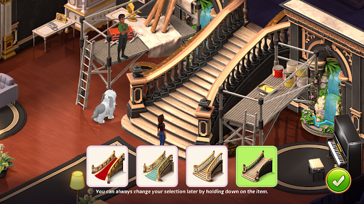 Solitaire Story - Ava's Manor: Tripeaks Card Game  screenshots 8