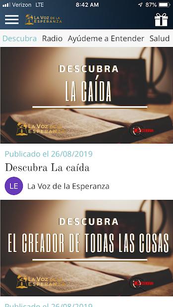 Screenshot 3 de La Voz de la Esperanza para android