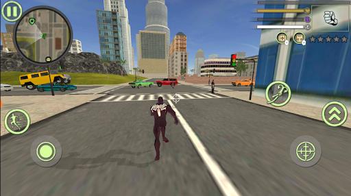 Neon Spider Rope Hero : Vice Town 1.0 Screenshots 2